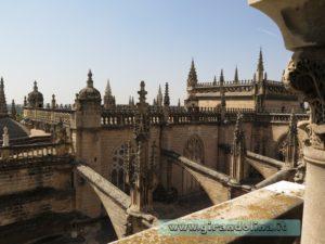 La Cattedrale di Siviglia,salita sulla Giralda