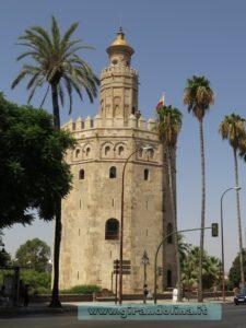 Siviglia e la Torre dell 'Oro