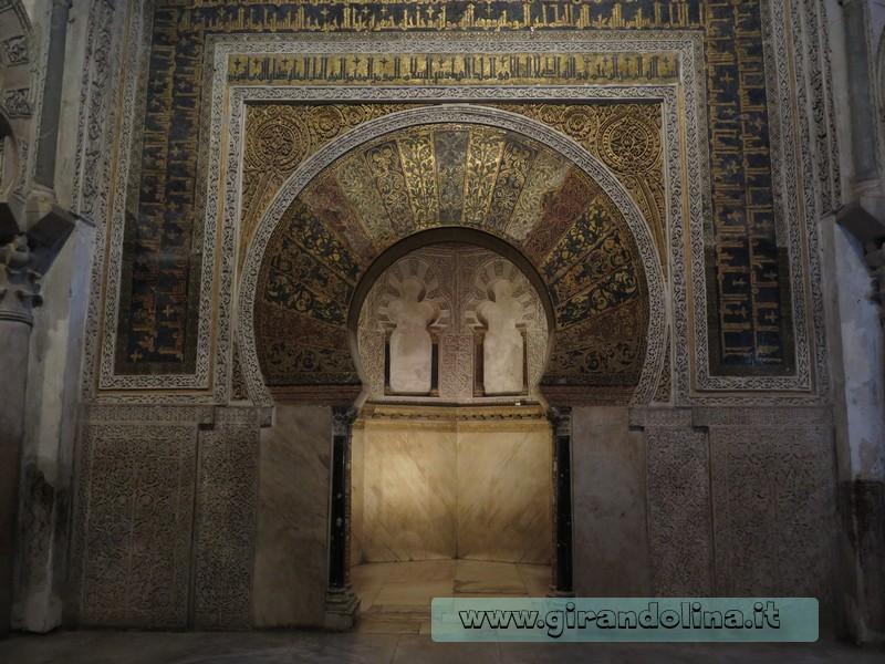 Cordova e il Mirhab della Mezquita