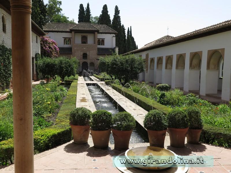 Alhambra e i patii del Generalife