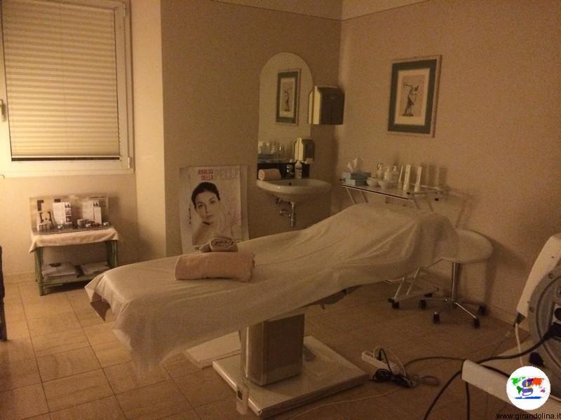 Grotta Giusti una sala dei massaggi nella Spa