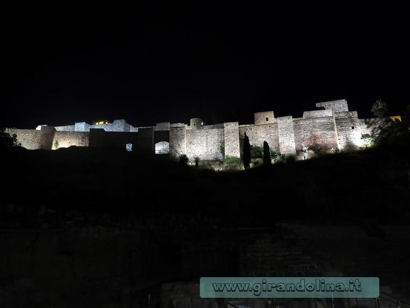 L'Alcazaba e il Teatro Romano