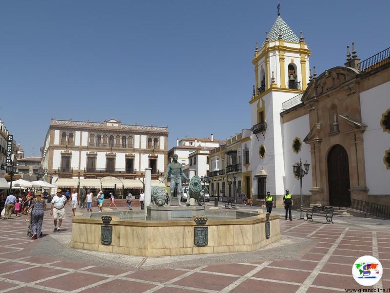 Plaza de Espagna di Ronda