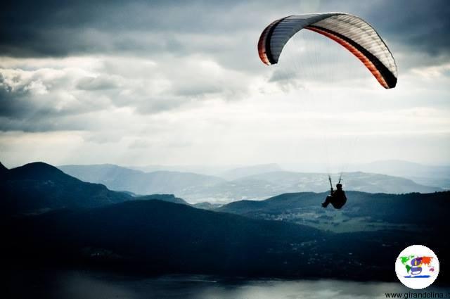 smartbox, lancio con il paracadute