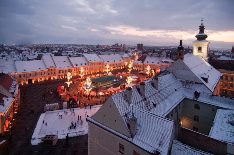 Transilvania Sibiu mercatini natale (ph skyscanner)