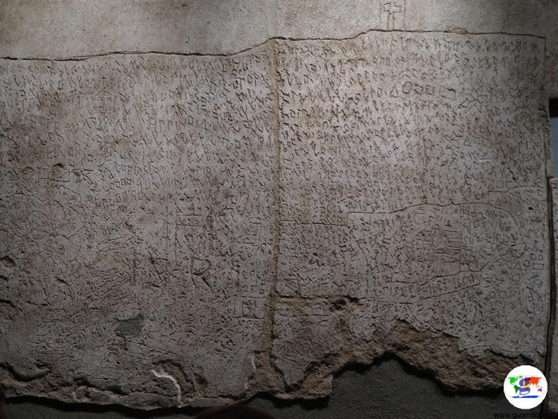 L'Ex Manicomio di Volterra, il graffito di Oreste Nannetti