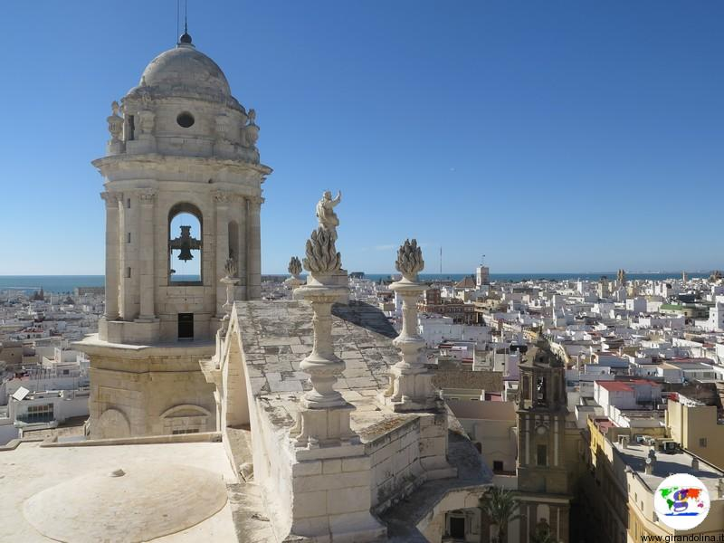 Panorama di Cadice dalla Torre de Poniente
