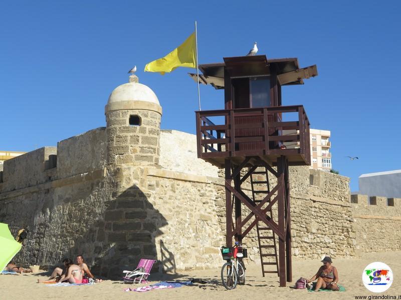 Playa de la Caleta Cadice