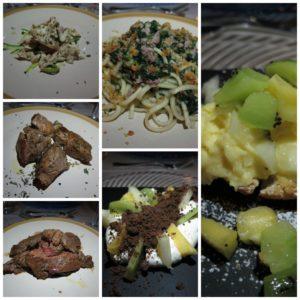 Il nostro Menu al ristorante del Cantico della Natura