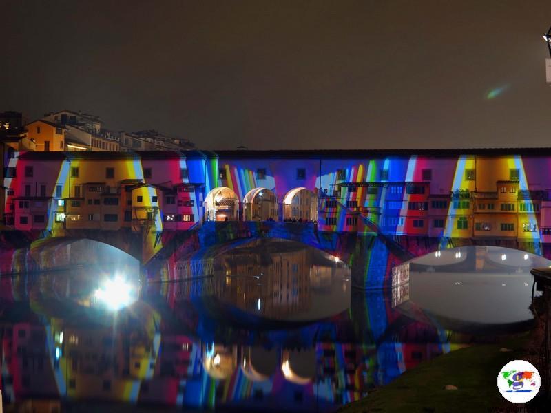 Alberi di natale italiani : F-light a Firenze