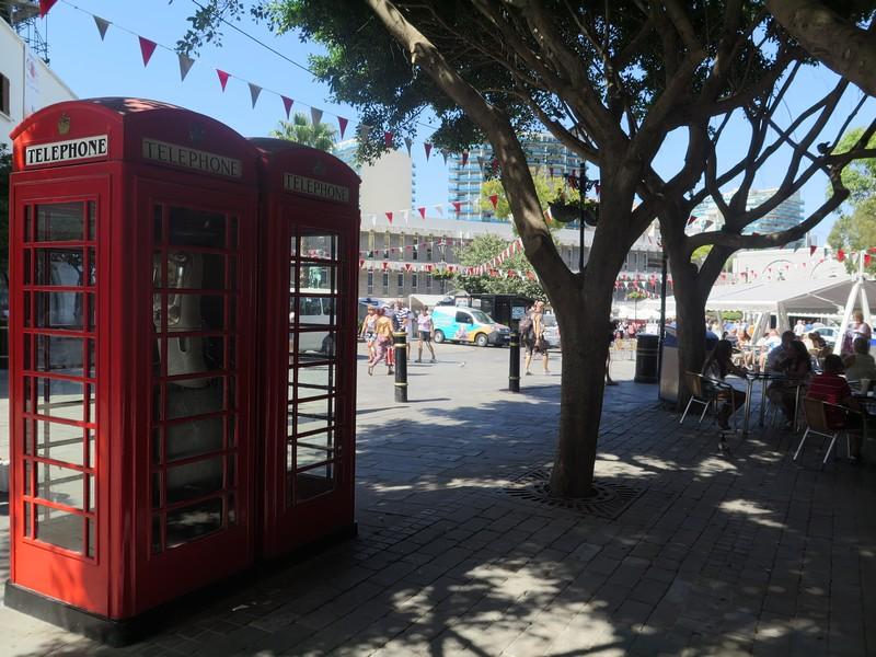Il centro storico di Gibilterra