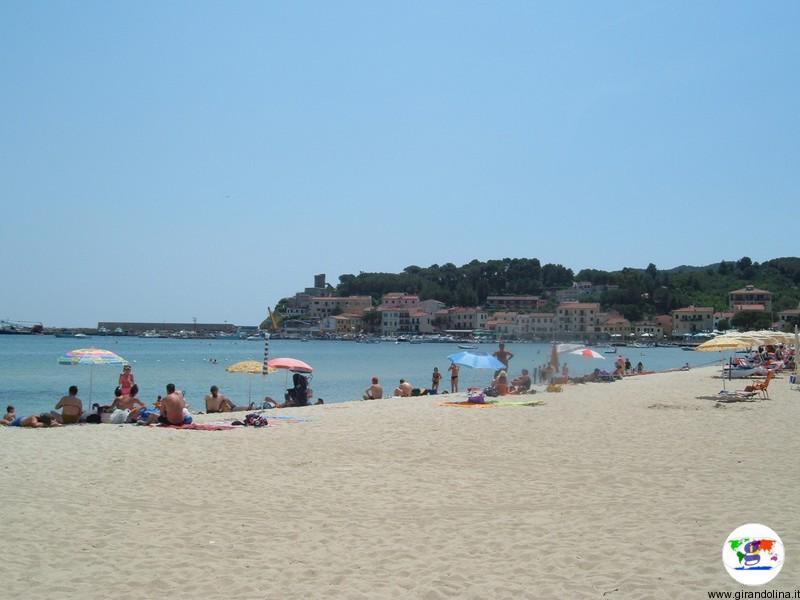 Isola d'Elba e la spiaggia di Procchio