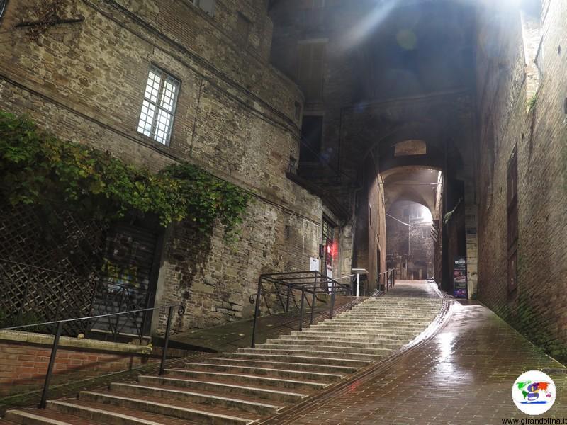 Le Scale dell 'Acquedotto di Perugia