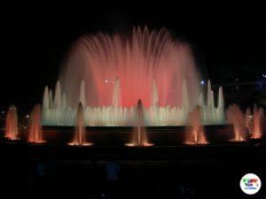 Barcellona- Fontana di Montjuic