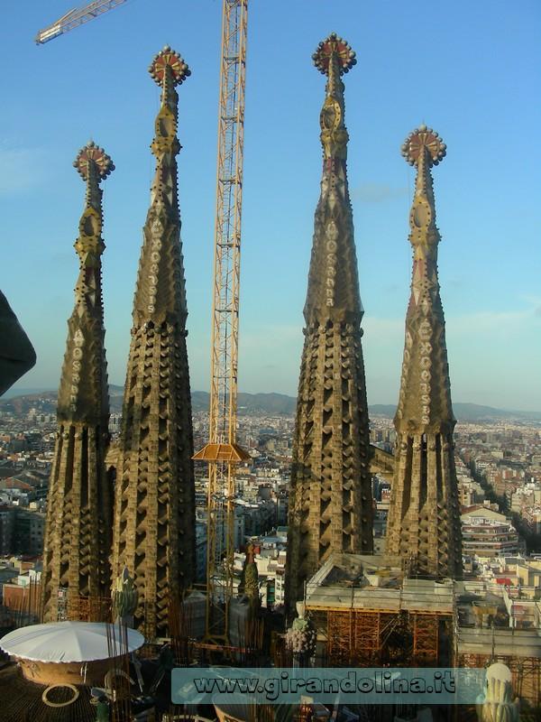 Barcellona e la Sagrada Familia