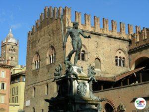 Fontana del Nettuno, Bologna, Italia