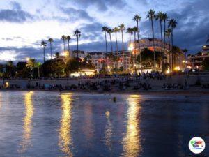 Cannes al tramonto