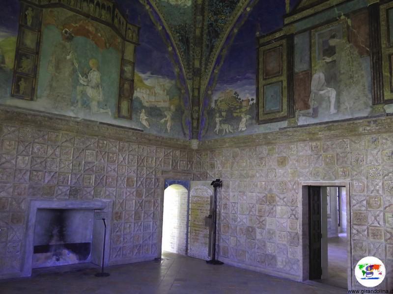 Castello di Torrechiara la Camera d'Oro