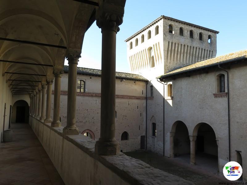 Castello di Torrechiara Cortile d'Onore