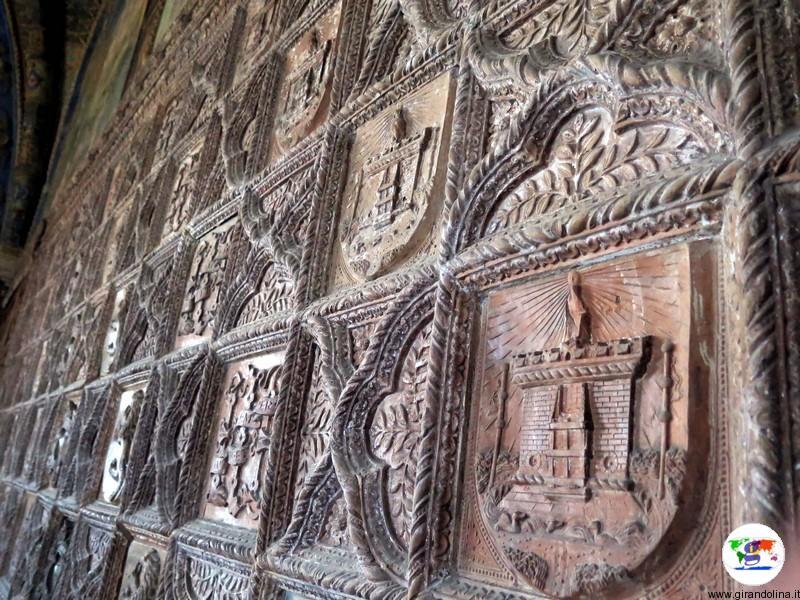 Castello di Torrechiara le formelle della Camera d'Oro