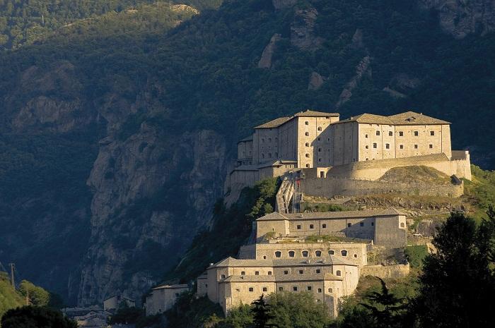 valle d'Aosta Bard il Forte (ph Skyscanner)