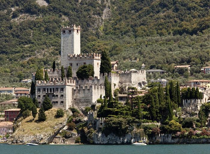 Castello Scaligero di Malcesine (ph Skyscanner)
