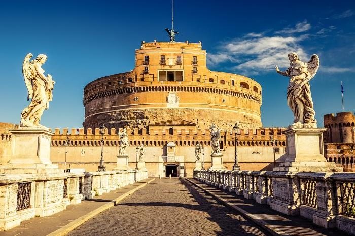 Castel Sant' Angelo Roma (ph Skyscanner)