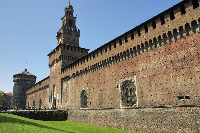 Castello Sforzesco di Milano (ph skyscanner)