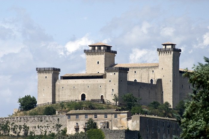Rocca Albornoziana di Spoleto (ph Skyscanner)