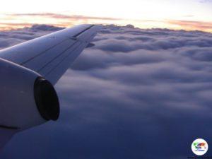 Volo al tramonto per Kangaroo Island