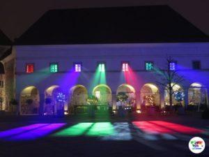 Lubiana, il Castello illuminato