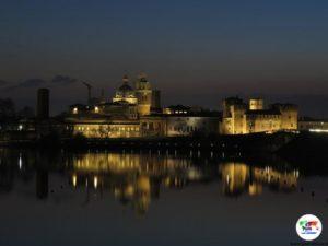Mantova dal Ponte di San Giorgio