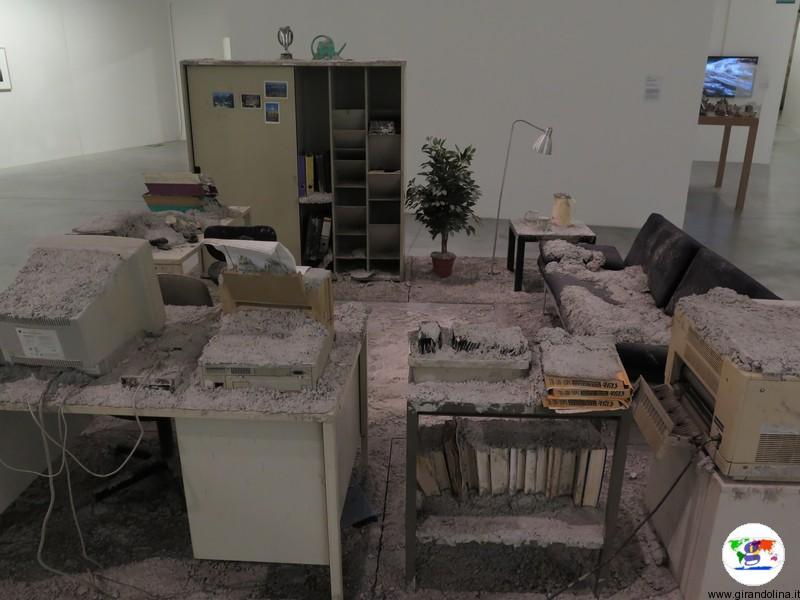 Centro Pecci Prato, l' ufficio cristallizzato