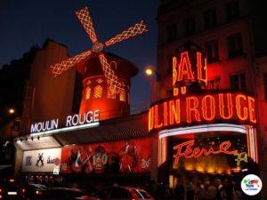 Parigi e il Moulin Rouge