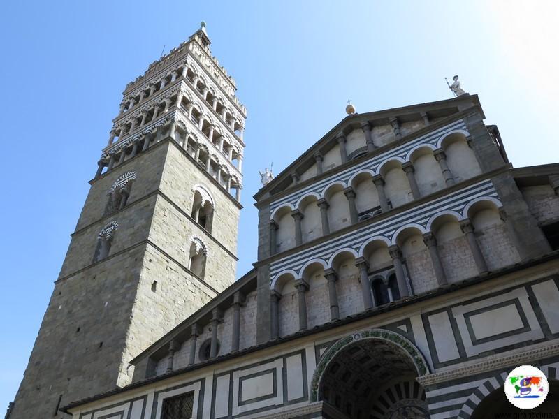 Pistoia, Cattedrale di San Zeno e il Campanile