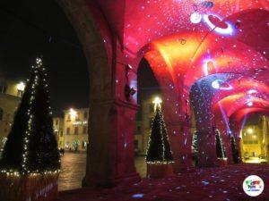 Pistoia e le luminarie natalizie