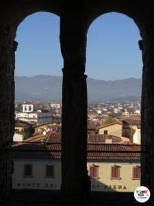 Veduta dal Campanile di Pistoia ,Toscana, Italia