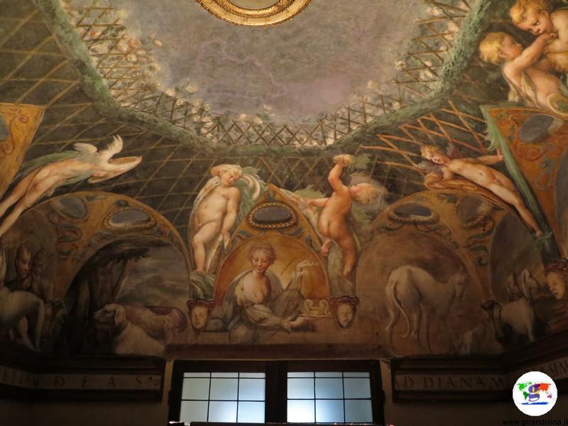 Rocca Sanvitale di Fontanellato, il Parmigianino