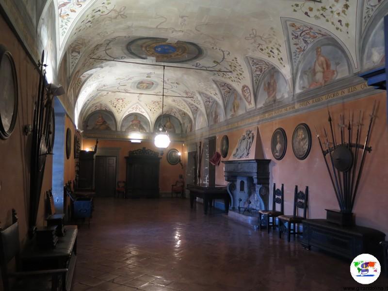 Rocca Sanvitale di Fontanellato, Stanza Armi