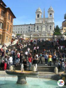 Piazza di Spagna, Roma,Italia