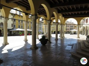 Sacile, Piazza del Popolo, Italia