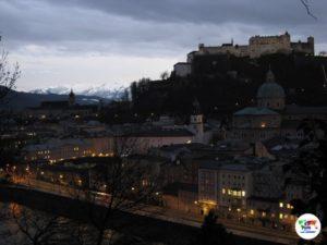 Salisburgo al tramonto