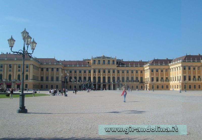 Il Castello di Schonnbrun a Vienna
