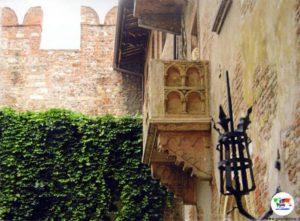 Balcone di Giulietta, Verona,Italia