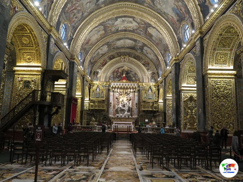 La Valletta St Jhons Co-Cathedral interno