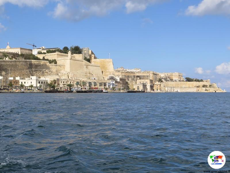 La Valletta crociera nel Grand Harbour