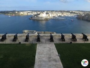 La Valletta - Malta- Saluting Battery