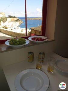 Malta, il panorama che vedevamo dal nostro appartamento a La Valletta