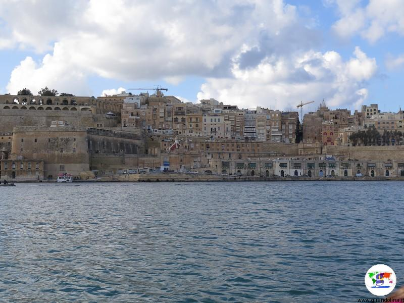Malta, La Valletta vista da Fort S.Angelo