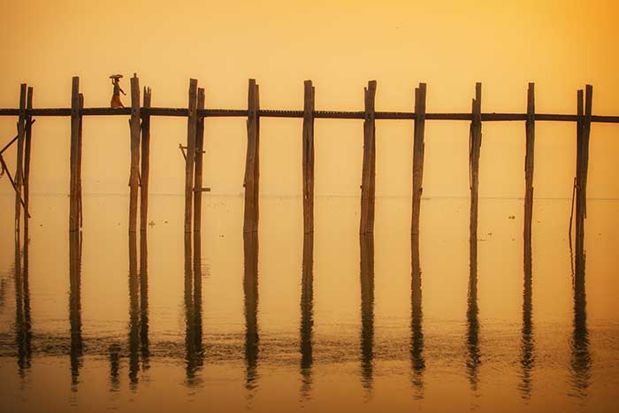 Ponte U Bein, Amarapura, Myanmar (ph sky scanner)